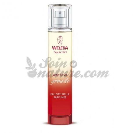 El agua natural perfumado Weleda Granada Jardín de 50ml Vida