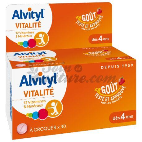 ALVITYL COMPRIMES A CROQUER 40
