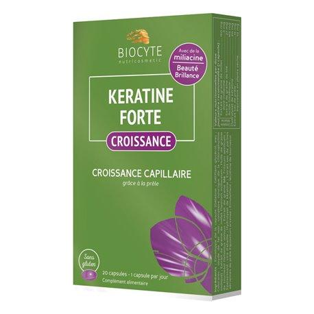 KERATINE FORTE CROISSANCE Biocyte 20 Capsules