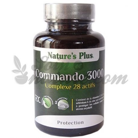 commando 3000 nature 39 s plus 60 tabletten organic pharmacy. Black Bedroom Furniture Sets. Home Design Ideas