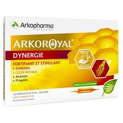 Arko Royal Dynergie Arkopharma Fortifiant Stimulant 20 ampoules