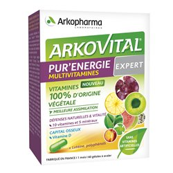 ARKOVITAL PUR'ENERGIE MULTIVITAMINES EXPERT 30 COMPRIMÉS