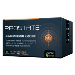 SANTE-VERTE PROSTATE confort urinaire masculin 60 comprimés