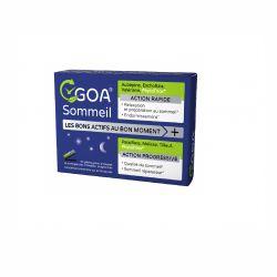 GOA SOMMEIL 30 gélules Chrono-Phyto-Nutrition WePhyt