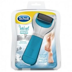 SCHOLL VELVET SMOOTH EXPRESS PEDI RAPE ELECTRIQUE BLEU