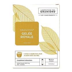 Granions Jalea Real 1500 mg - 15 palos