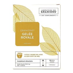 Jelly Granions Real 1500mg - 15 sticks