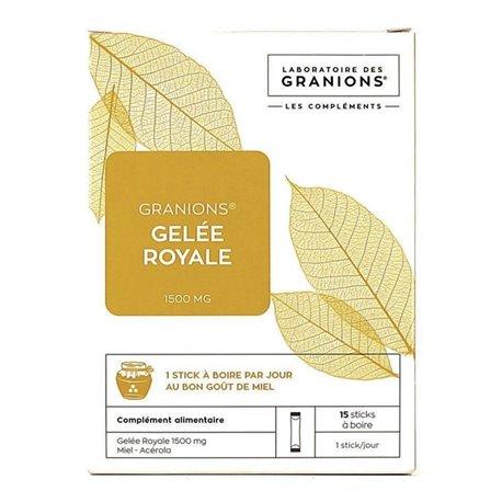 Granions Gelea Reial 1.500 mg - 15 pals