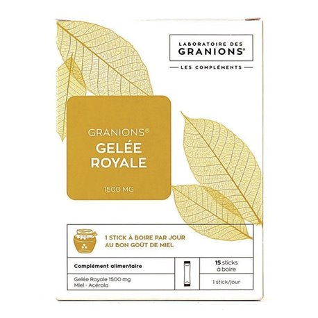 Granions Gelée Royale 1500mg - 15 sticks