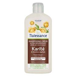 NATESSANCE Karité shampooing Crème 250ML