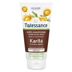 NATESSANCE Karité Après shampooing 150ML