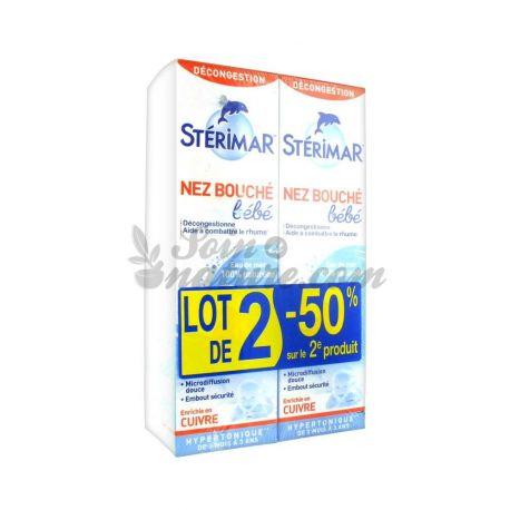 Sterimar BABY KIND hypertone COPPER SPRAY neusmond 100ML LOT 2