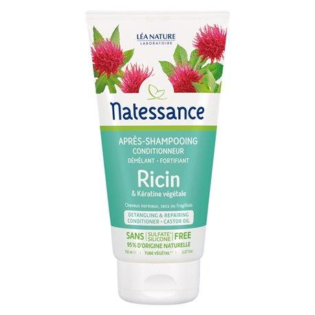 Natessance Conditionneur Ricin Après Shampooing 150ML