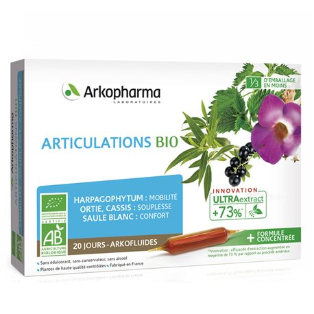 ARKOFLUIDE BIO ARTICULATIONS 20 AMPOULES 10ml ARKOPHARMA