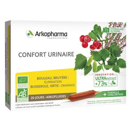 Arkopharma Arkofluide BIO COMFORT Harnwege 20 BULBS 10ml