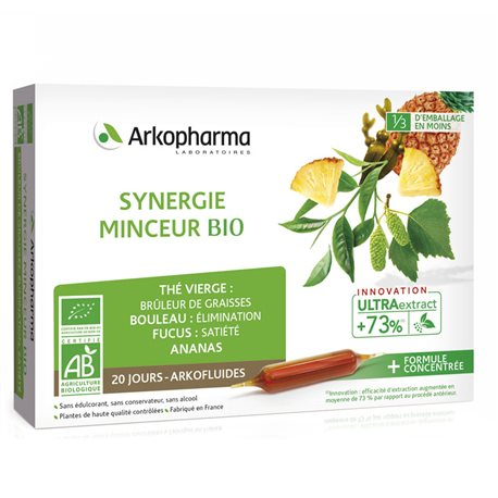 Arkopharma Arkofluide BIO SYNERGY DIMAGRANTI 20 LAMPADINE 10ml