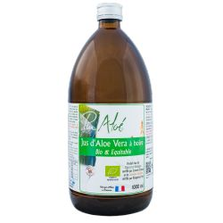 PurAloe pur jus d'aloe vera à boire 1 litre