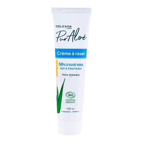 PurAloe crème à raser aloe vera natif 50% 100ml