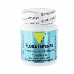 Vitall + FLORA INTENSO microbiota COMPLESSO 15 CAPSULE