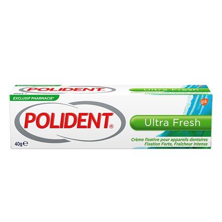 Polident Fixatif Ultra Fresh appareil dentaire 40 G