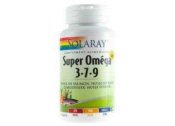 115bfaf05 SOLARAY سوبر OMEGA 3-7-9 PLUS فيتامين D 60 كبسولات هلامية الحيوية ...