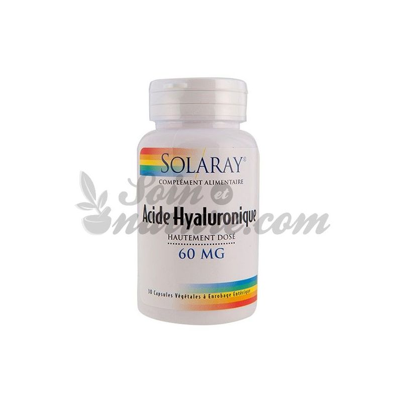 solaray hyaluronic acid hd 60 mg 30 capsules in bio pharmacy. Black Bedroom Furniture Sets. Home Design Ideas