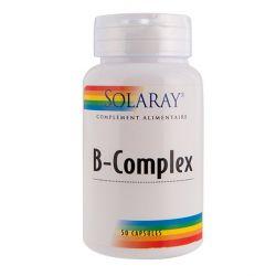 SOLARAY B COMPLEX VITAMINES B 50 CAPSULES