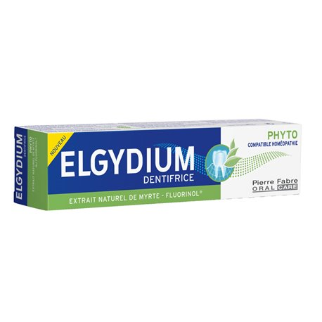 ELGYDIUM PHYTO dentifrice compatible avec l'homéopathie 75ML
