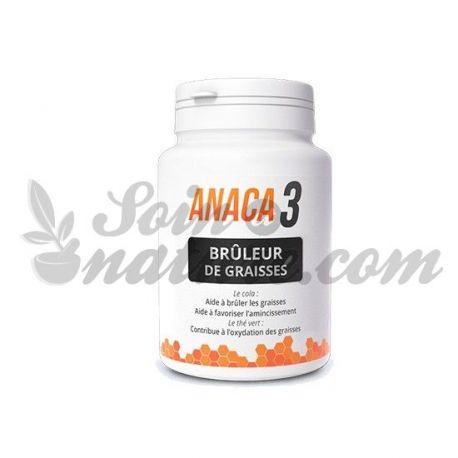 Anaca3 brûleur de graisses naturel 60 gélules
