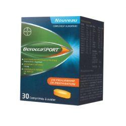 BEROCCASPORT vitamines sportif 30 Comprimés