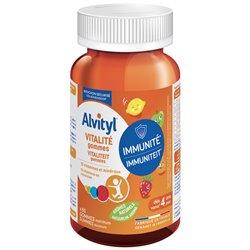 ALVITYL Vitalité 10 VITAMINES Enfants 60 GOMMES
