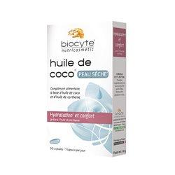 BIOCYTE Huile de Coco 30 capsules