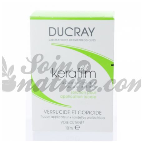 KERAFILM Verrucide Coricide Solution filmogène 10ML Ducray 11,0