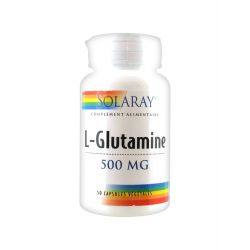 SOLARAY L-GLUTAMINE 500 MG 50 CAPSULES