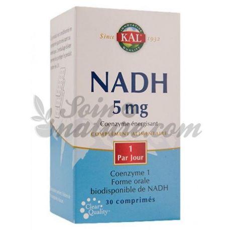 NADH 5 MG KAL 30 COMPRIMÉS