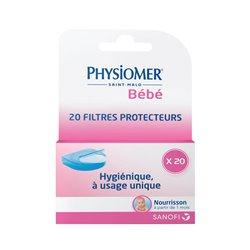 MOUCHE-Bébé PHYSIOMER Recharge 20 filtres