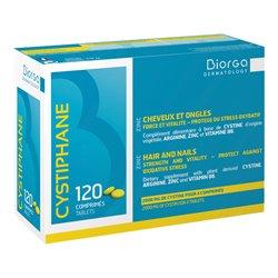 CYSTIPHANE BIORGA anti-chute de cheveux 120 comprimés