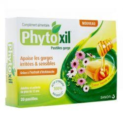 PHYTOXIL MAUX DE GORGE 20 PASTILLES