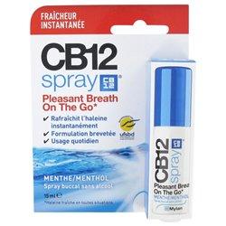CB12 SPRAY haleine fraîche sans alcool Menthol 15ML