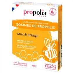 Propolia GOMMES DE PROPOLIS Miel & Orange