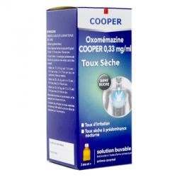 OXOMEMAZINE COOPER TOUX Sèche 150ml