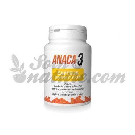 Anaca3 Capteur de Graisses et Sucres 60 Gélules