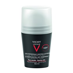 VICHY HOMME anti transpirant Roll on anti trace 72h 50ml