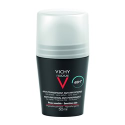 VICHY HOMME anti transpirant 48h Roll on anti-trace 50ml