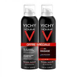VICHY HOMME Gel de rasage peaux sensibles 150ml