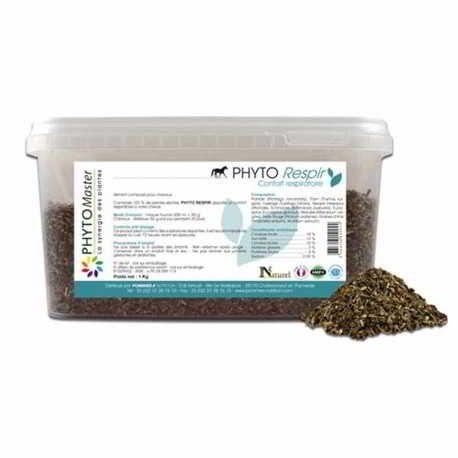 Phyto-respir Plantes pour Cheval Phytomaster pot 1kg