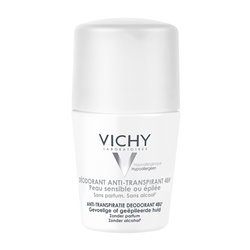 Vichy Anti transpirant déodorant Roll on peau sensible 50ml
