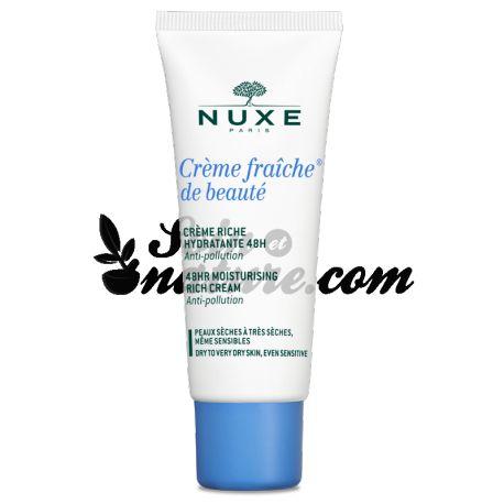 Nuxe Crème fraîche de beauté enrichie peau sèche