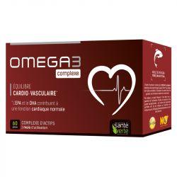 Santé-Verte Omega3 Complexe cadiovasculaire 60 gélules