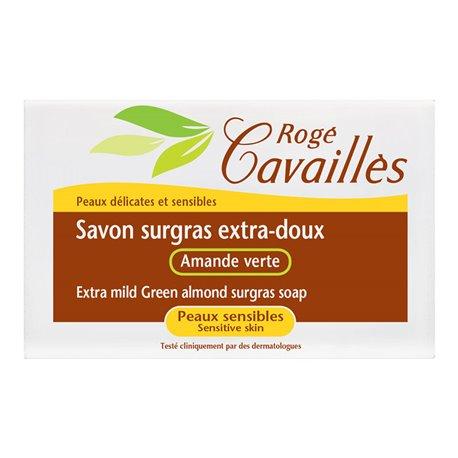 Rogé Cavaillès savon surgras Amande verte 150g